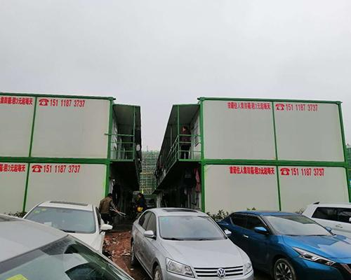 车库集装箱活动房安装