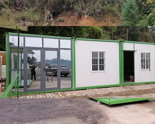 山区工人宿舍集装箱活动房工程