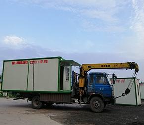 大型集装箱活动房运输